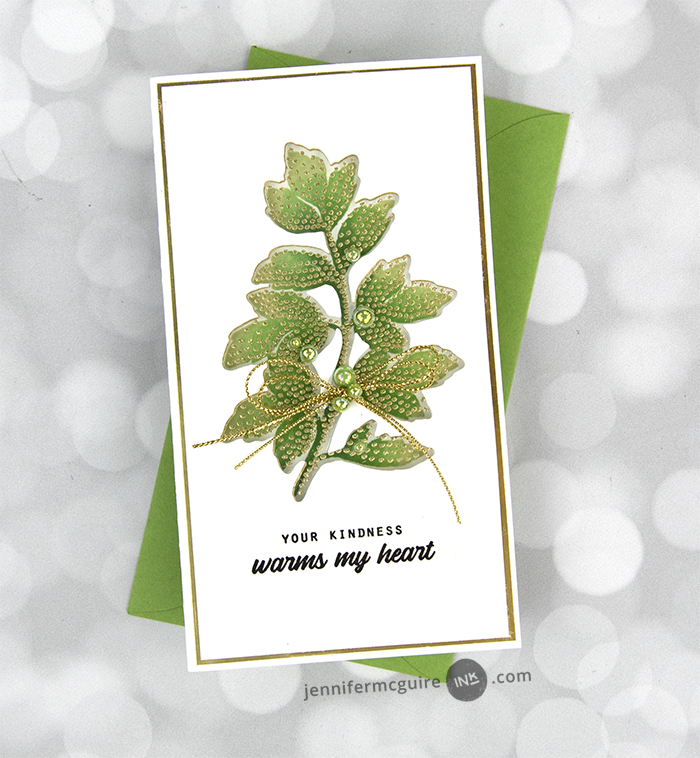 Lined-Up Window Cards Video by Jennifer McGuire Ink