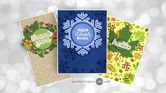 Spinning Cards Video by Jennifer McGuire Ink
