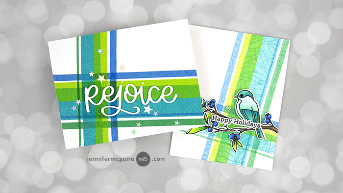 2-For-1 Resist Techniques Video by Jennifer McGuire Ink