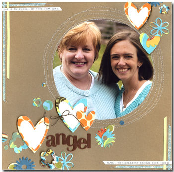 Layout - Die Cut - Angel