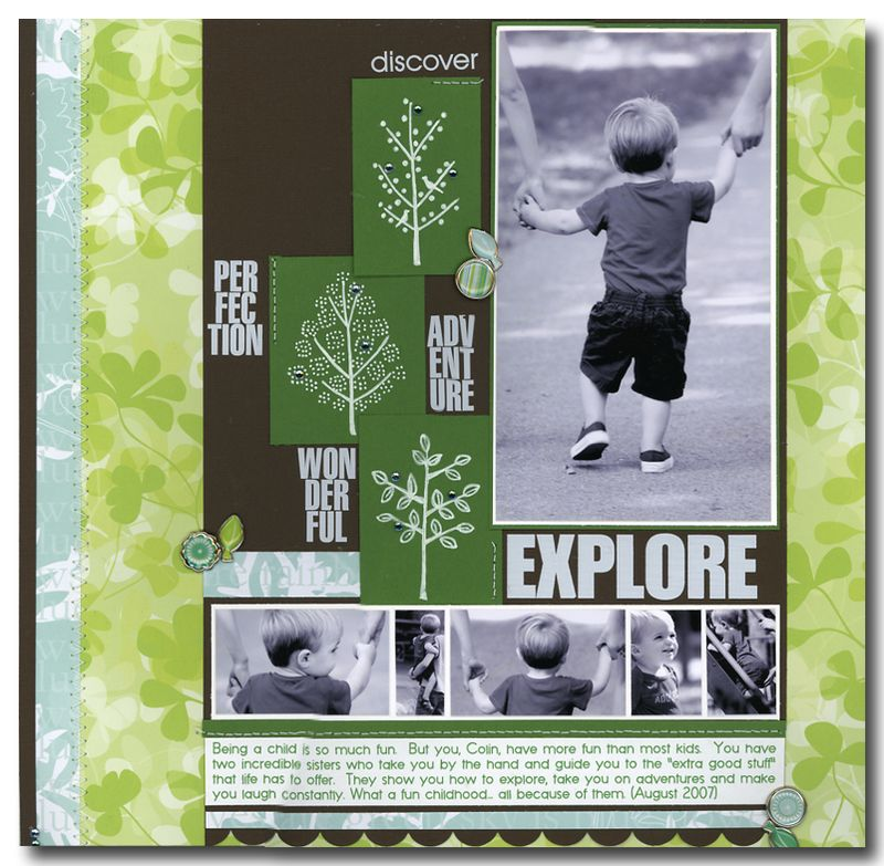 Layout - Trace Stamped Images - Explore