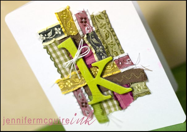 Trims Scraps Card