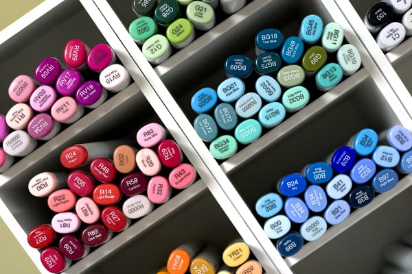 RV SELECT COLOR Copic SKETCH Marker RED VIOLET Colors Colors
