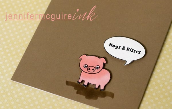 070210 Pig Cards for Kids JenMcGuire